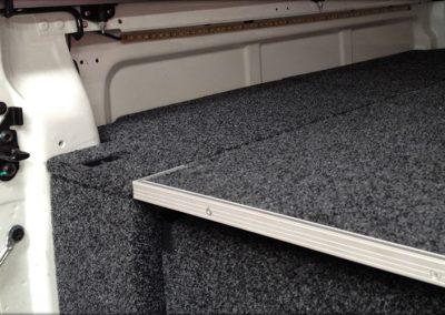 Roller drawer installation